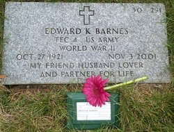 Edward K Barnes