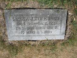 SSGT Sylvester H Baker