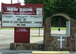 New Zion Baptist Church Cemetery #1