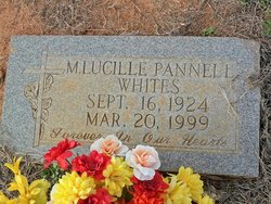 "Marie Lucille ""Cile"" <I>Pannell</I> Whites"