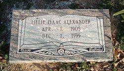 Lillie <I>Stockstill</I> Alexander
