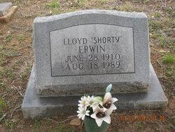 Lloyd 'Shorty' Erwin