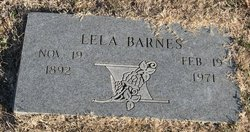 Lela Barnes