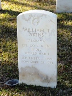 William T Akins