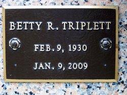 Betty <I>Ragsdale</I> Triplett