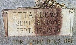 Etta Lewis Hutchinson