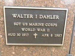 Walter I Dahler