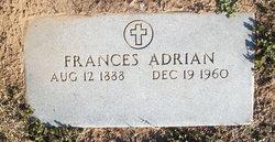 Frances <I>Duper</I> Adrian