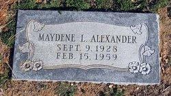 Maydene Loraine <I>Franklin</I> Alexander