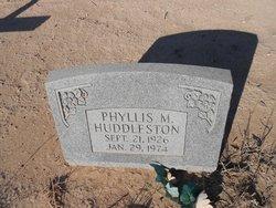 Phyllis M Huddleston