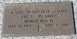 John Wofford Adams