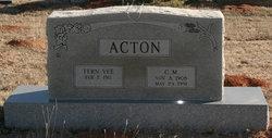 C. M. Acton