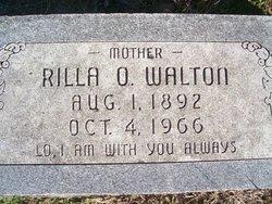 "Zerilda Olivia ""Rilla"" <I>Johnson</I> Walton"