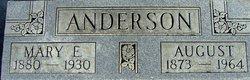 Mary Elizabeth <I>Bingtson</I> Anderson