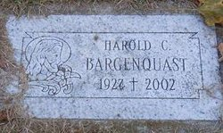 """Harold Clarence """"Whity"""" Bargenquast"""