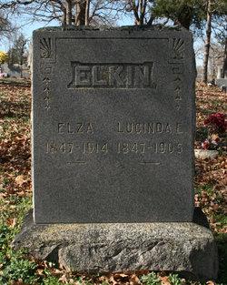 Lucinda Ellen <I>Thompson</I> Elkin