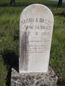 Sarah A Bailey