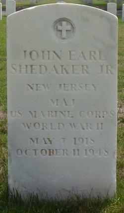 Maj John Earl Shedaker, Jr