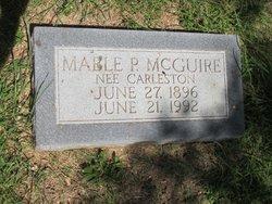 Mable Parthenia <I>Carleston</I> McGuire