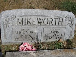 Alice Ann <I>York</I> Mikeworth