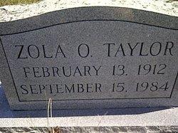 Zola O <I>Detmer</I> Taylor