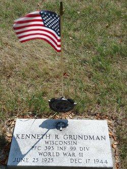 PFC Kenneth R Grundman