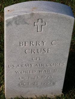 Berry C Cruse