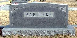 """Magdalena """"Maggie"""" <I>Kammerer</I> Babitzke"""