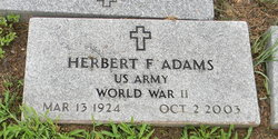 Herbert Freeman Adams