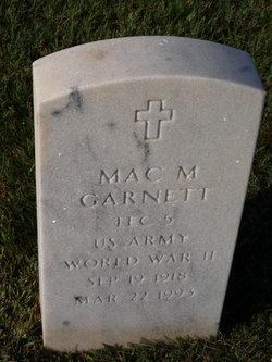Mac Monroe Garnett