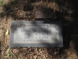 Annie S <I>Stapleton</I> Strane