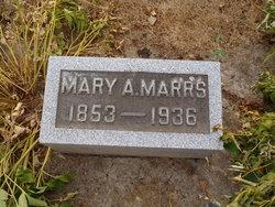 Mary Ann <I>Sherer</I> Marrs