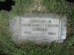 Christine M Arnone