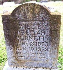 Willie Delilah Burnett