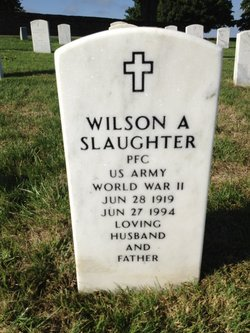 Wilson A Slaughter