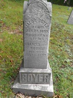 Frances <I>Robinson</I> Boyer