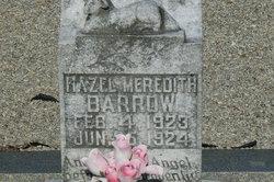 Hazel Meredith Barrow