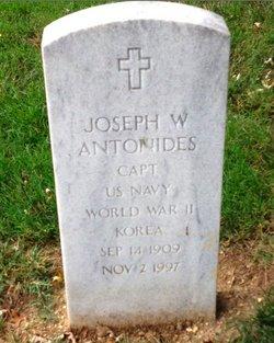 Capt Joseph W. Antonides
