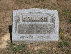 Emma Josephine <I>York</I> English
