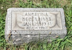Mrs Angelina E. <I>Mucciarello</I> Favale