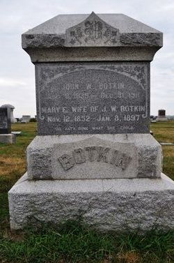 Mary Elizabeth <I>Meyer</I> Botkin