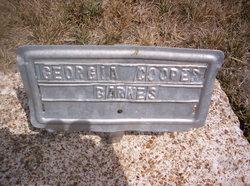 Georgia <I>Cooper</I> Barnes