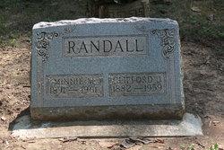 Minnie Maude <I>Billett</I> Randall
