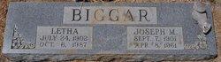 Letha F. <I>Ingram</I> Biggar