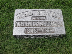 Amelia Bullitt <I>Wilson</I> Anderson