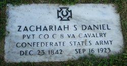 Zachariah Stephen Daniel