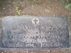 Edward W Bacon