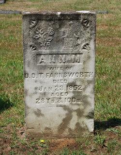 Ann M. <I>Gibson</I> Farnsworth