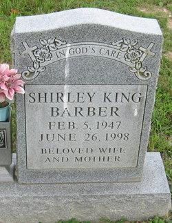 Shirley <I>King</I> Barber