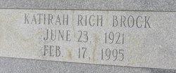 Katirah <I>Rich</I> Brock